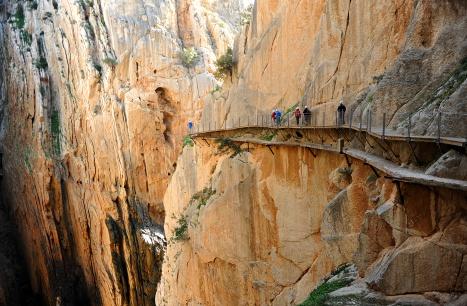 Rock wall with bridge on side.jpeg